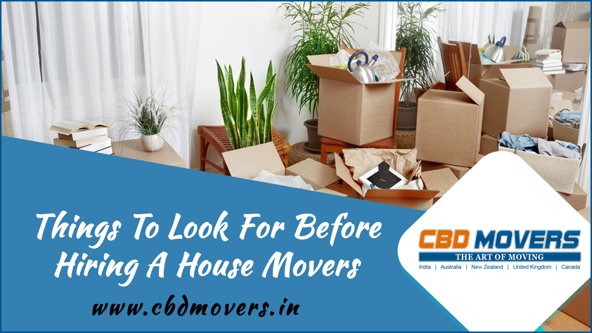 domestic shifting packers and movers