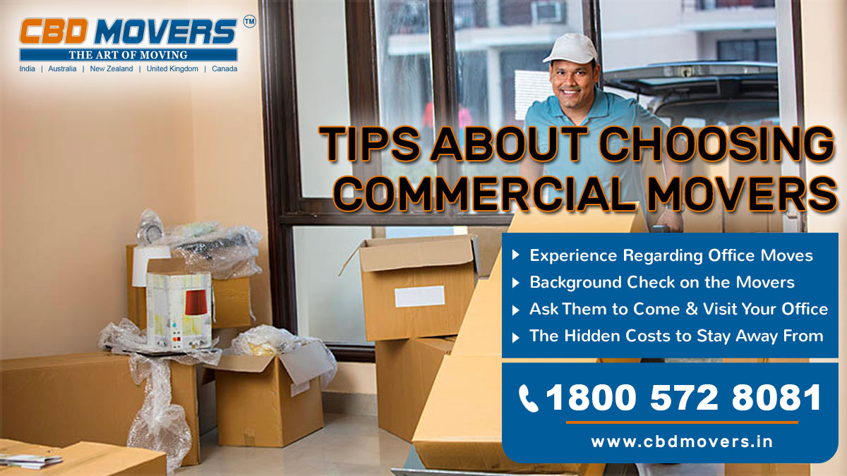 Tips About Choosing Commercial Movers