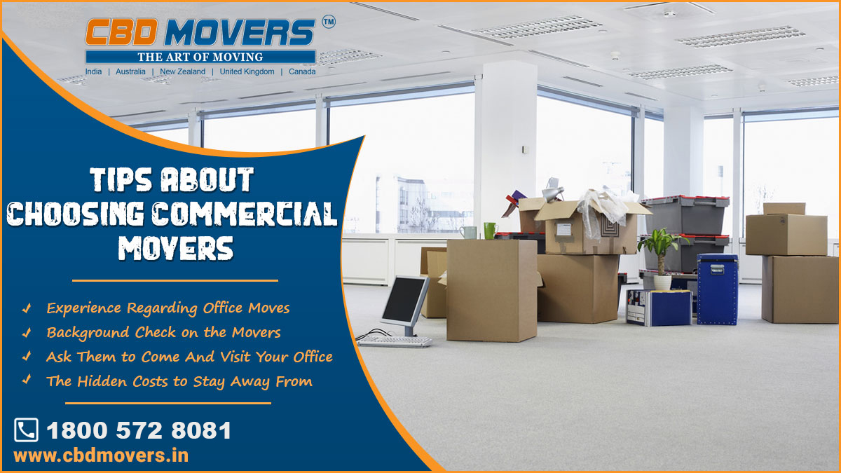 tips to choose commercial movers