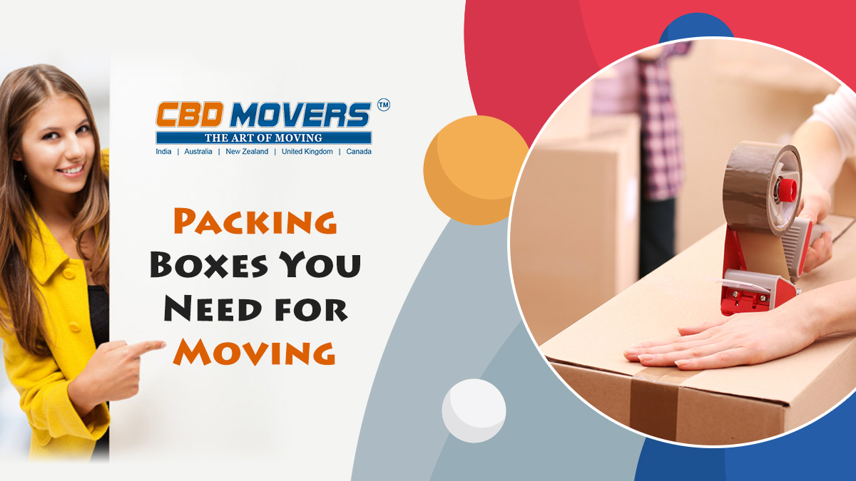 packing boxes you need for moving