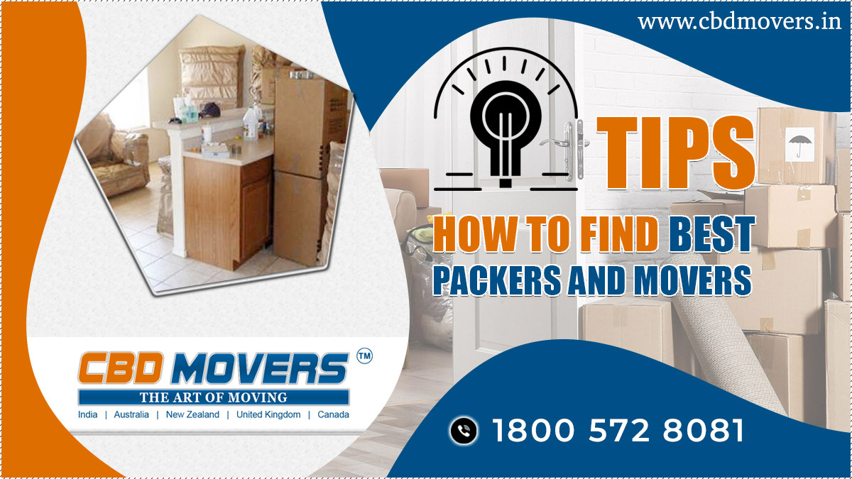 Find Best Packers And Movers