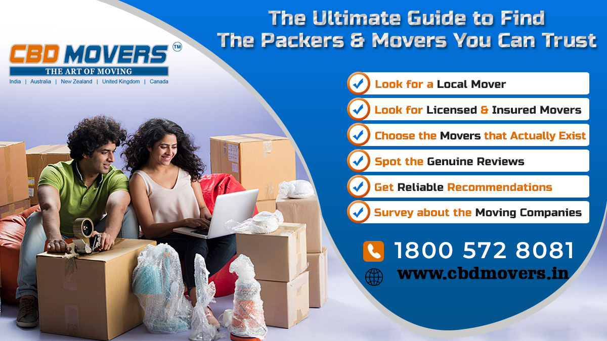 Packers and Movers where You Can Trust