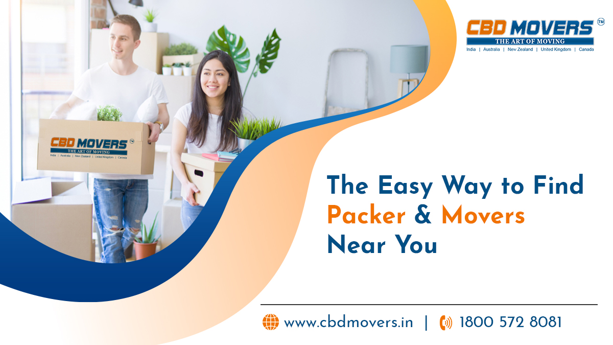 Find Packer and Movers Near You