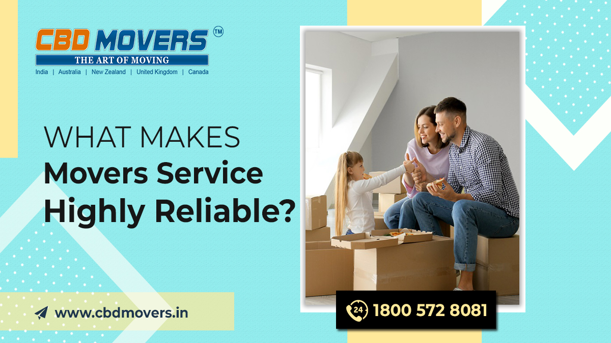Movers Service Highly Reliable