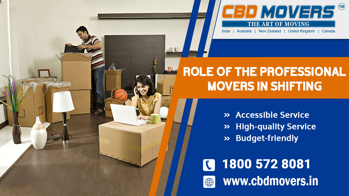 Role of The Professional Movers in Shifting