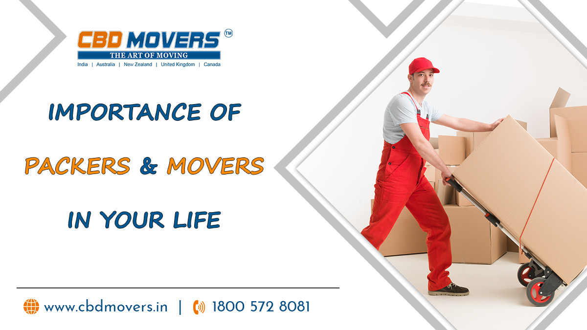 Importance of Packers and Movers